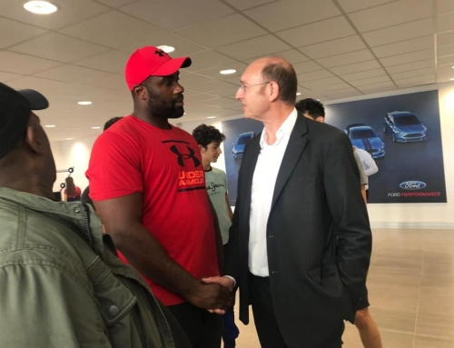 Teddy Riner – concession Ford