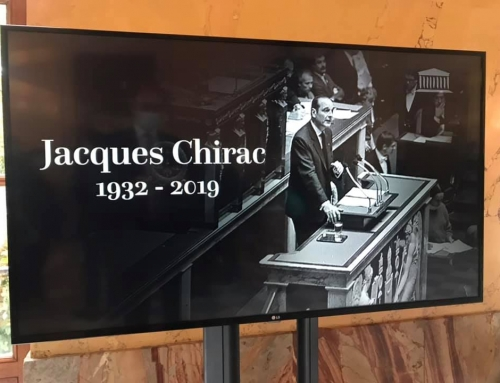 L'Assemblée Nationale honore Jacques Chirac