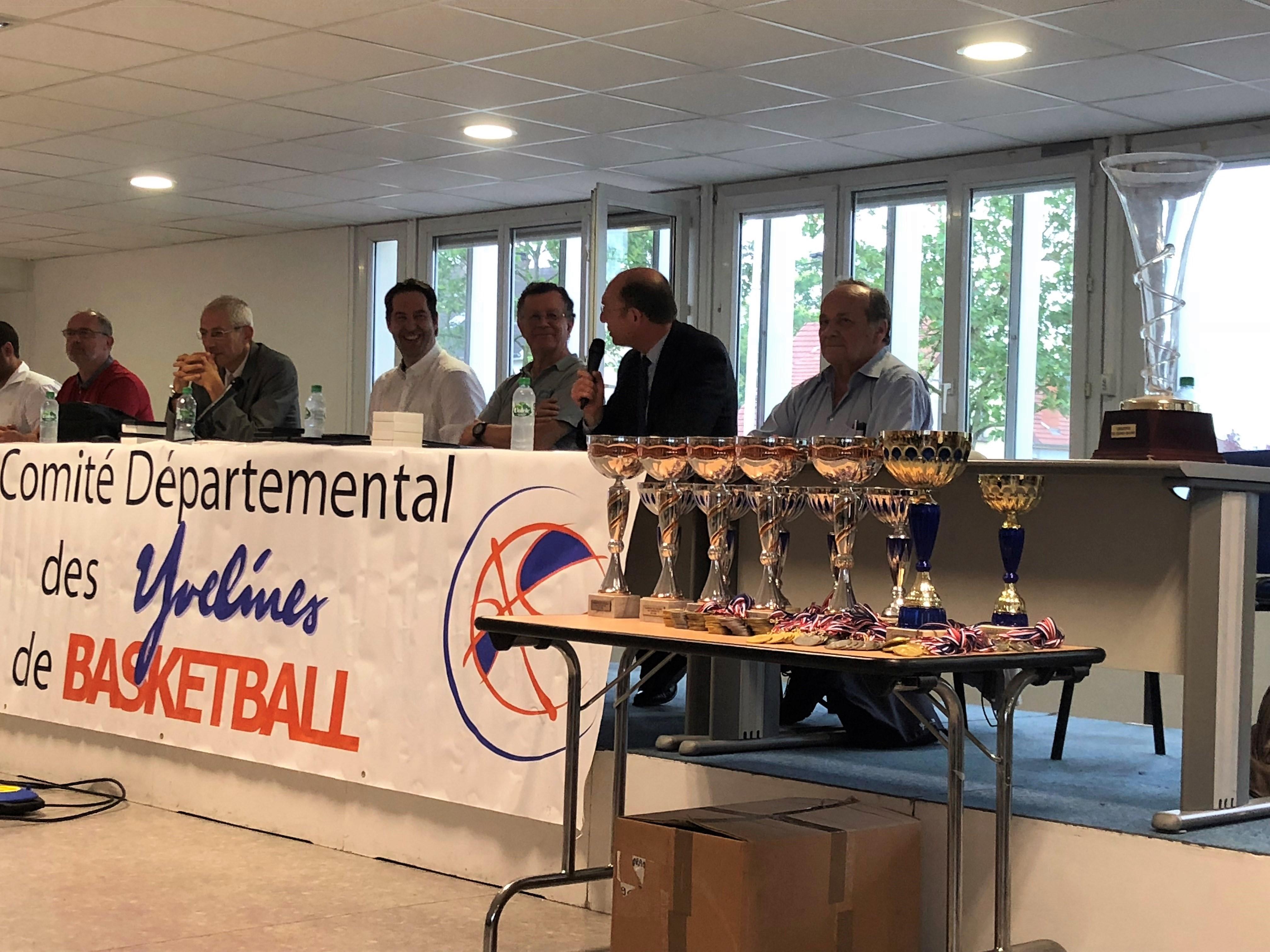 Assemblée Générale du Comité Départemental des Yvelines de Basket-Ball à Mantes-la-Jolie