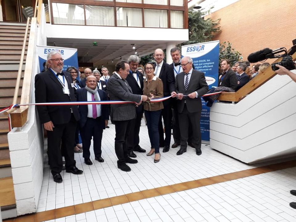 1er salon des entreprises organisé par l'association ESSOR