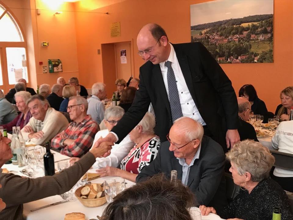 Déjeuner des seniors à Oinville-sur-Montcient