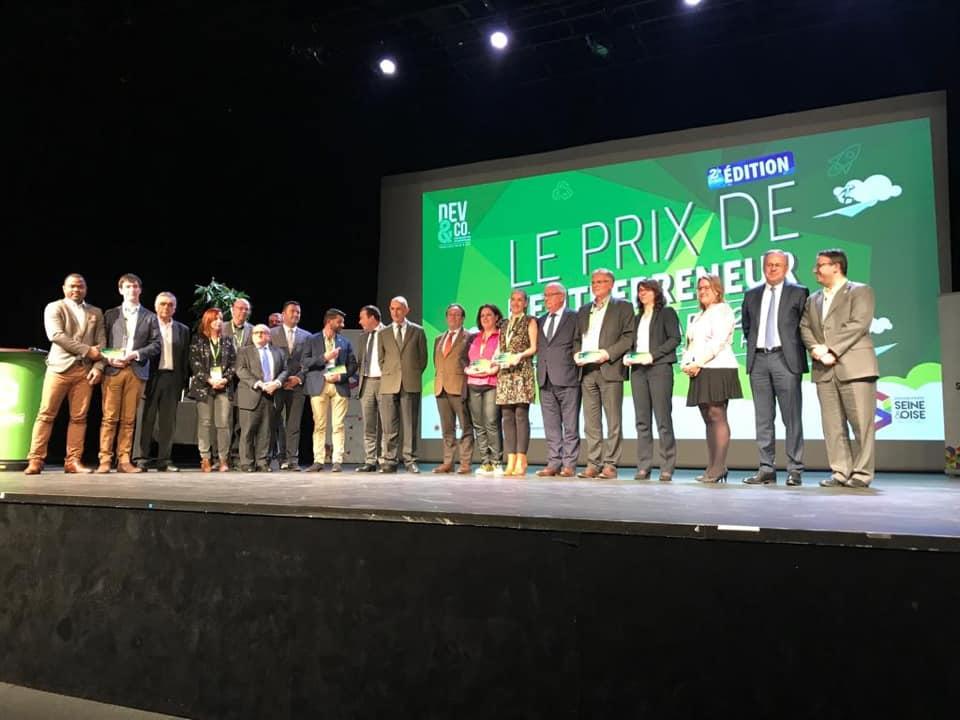 2ème édition du prix de l'entrepreneur