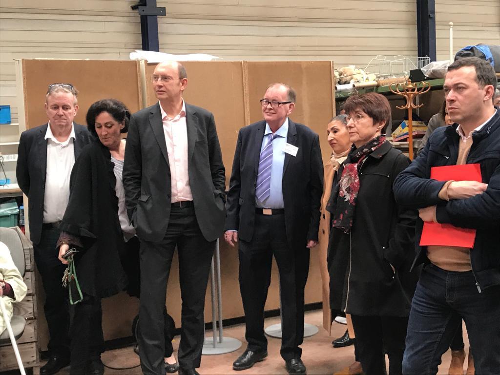 Mantes-la-Jolie – inauguration de la Ressourcerie «Aptiprix»