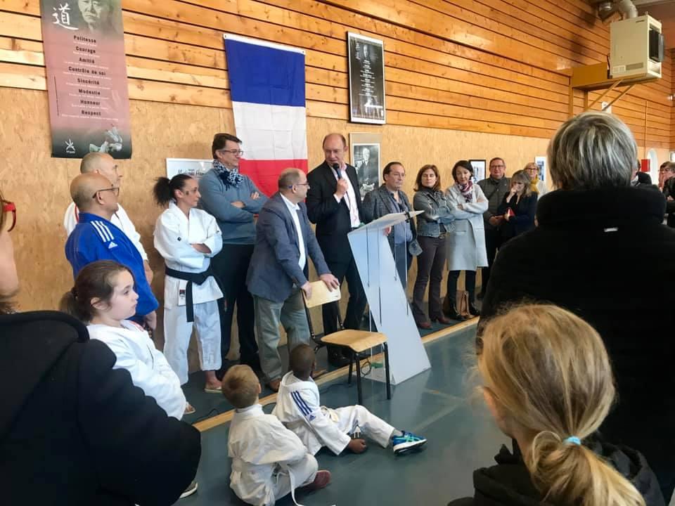 Rosny-sur-Seine, inauguration du dojo «Jean-Marie Guy»