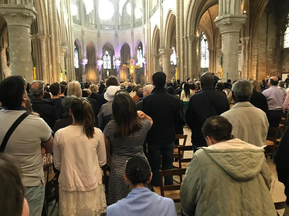 Pâques à la Collégiale Notre-Dame de Mantes-la-Jolie