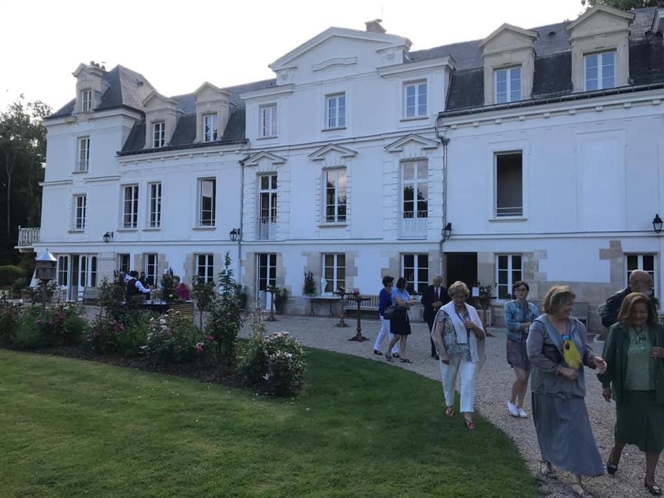Inauguration des travaux au château de Brueil-en-Vexin
