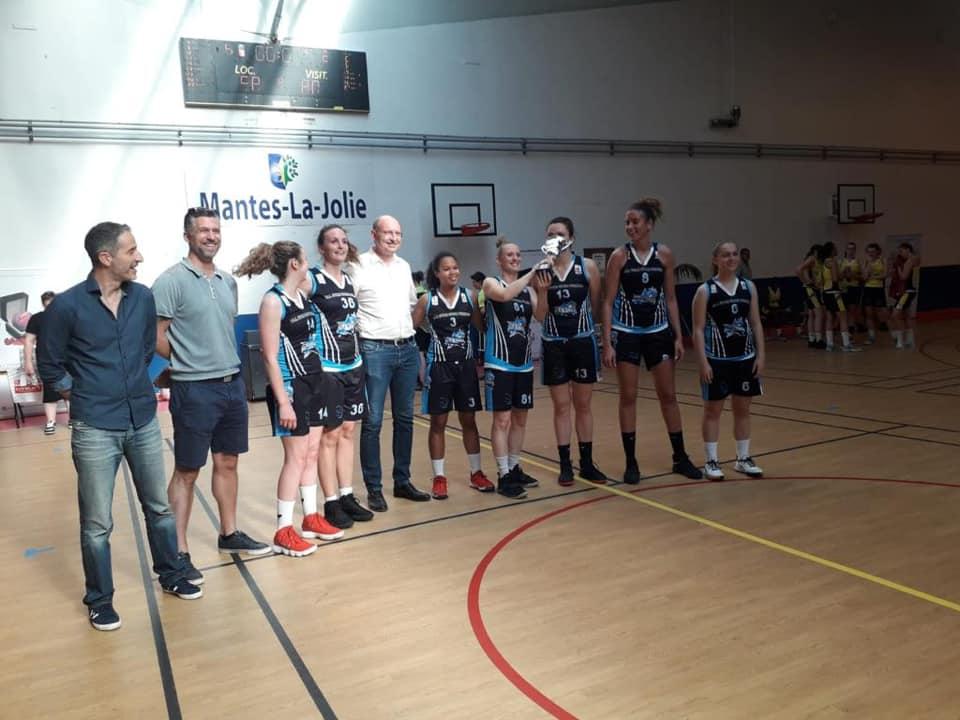 Tournoi des clubs du Basket-Ball féminin à Mantes-la-Jolie