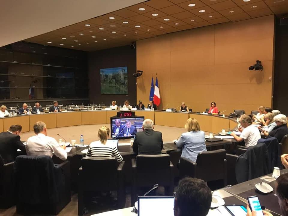 Commission Développement Durable et Aménagement du Territoire sur l'accord économique et commercial global entre l'Union européenne et le Canada (CETA)