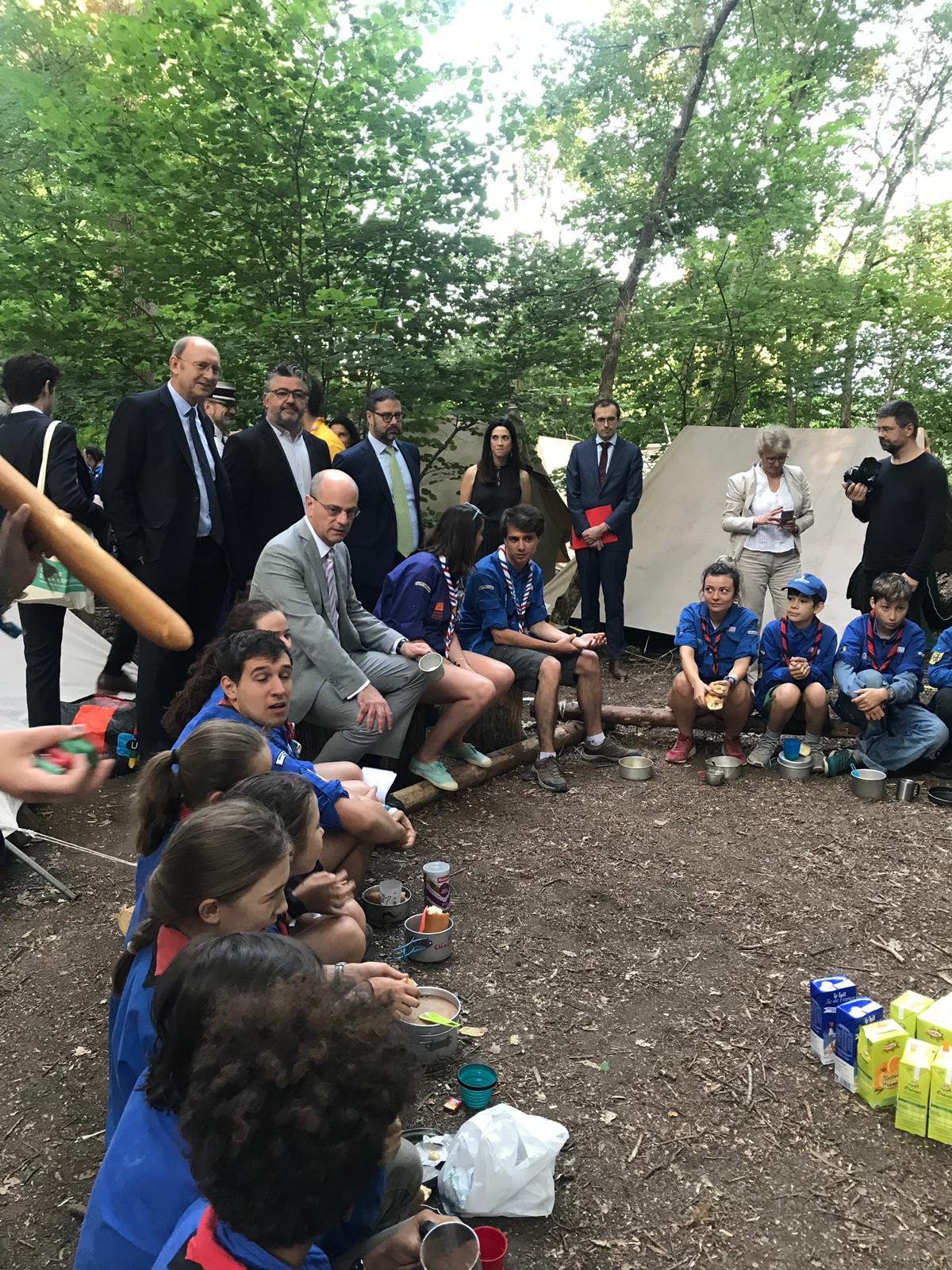 20 000 scouts de France sont venus à Jambville