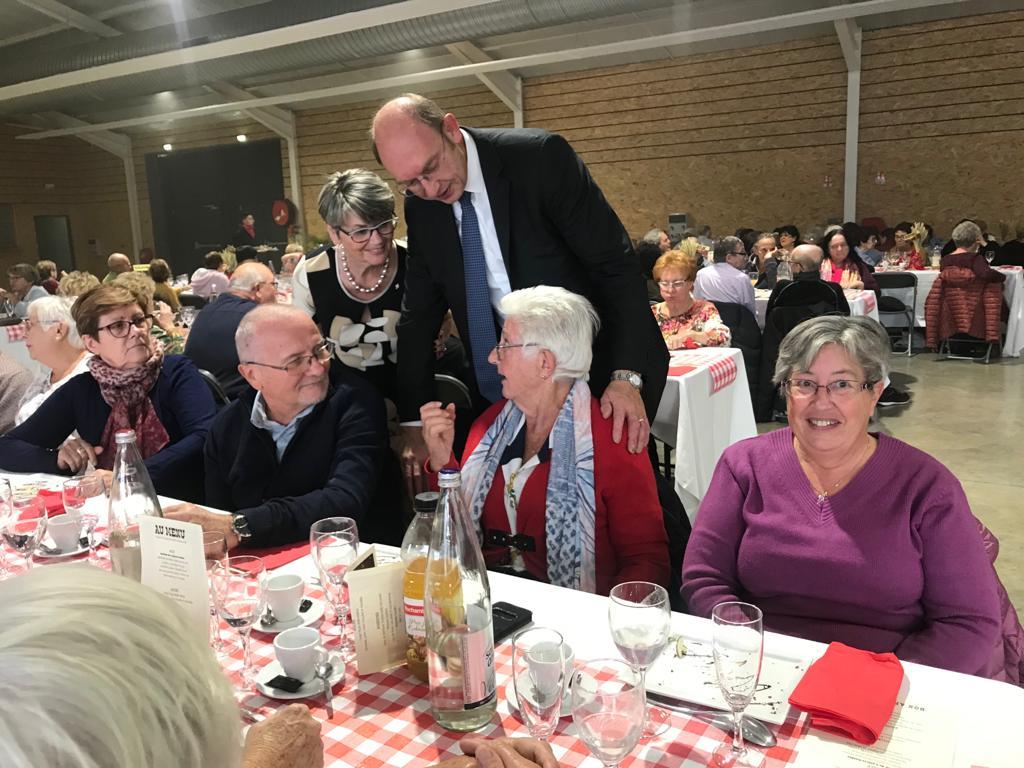 Goûter des Seniors à Mantes-la-Jolie