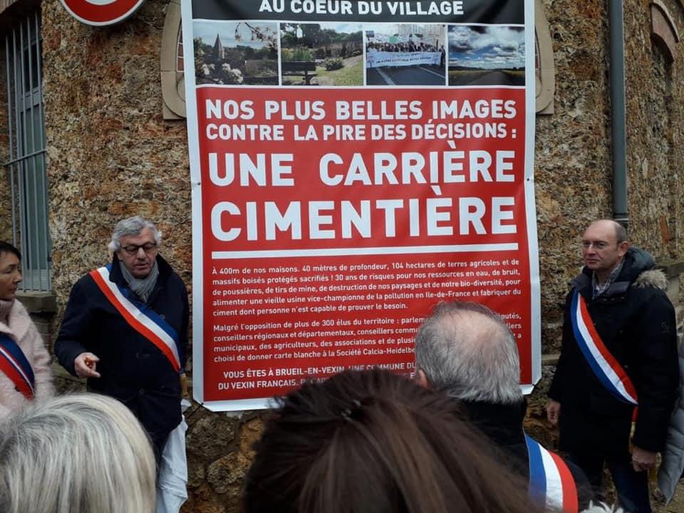 Exposition « hors les murs » au cœur du village de Brueil-en-Vexin