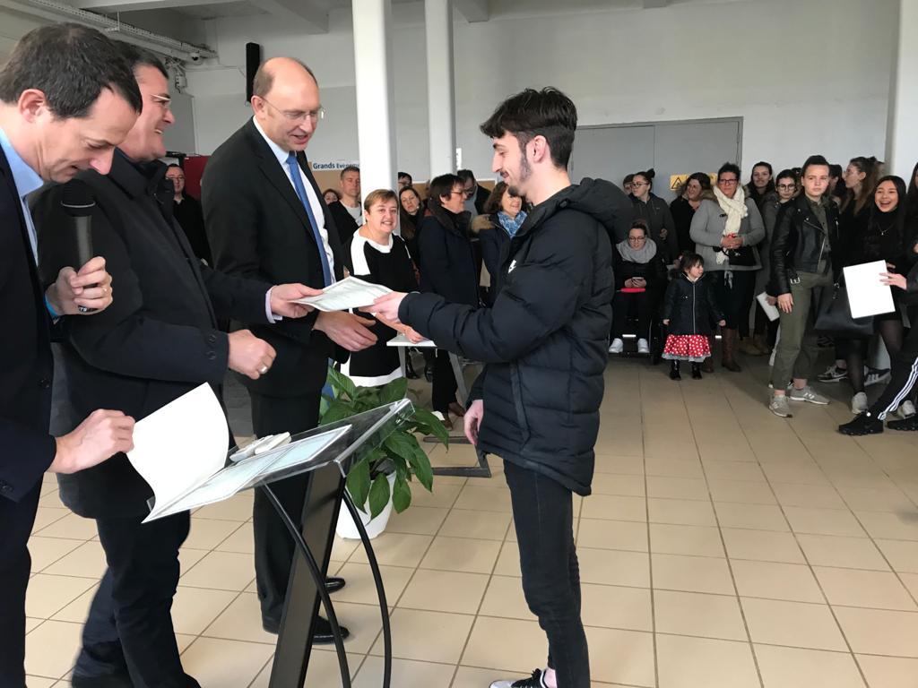 Lycée agricole Sully de MAGNANVILLE- remise des diplômes
