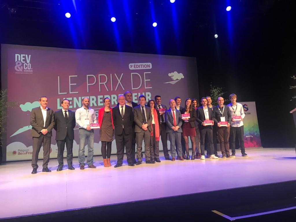 3ème édition du Prix de l'entrepreneur de GPS&O à Poissy