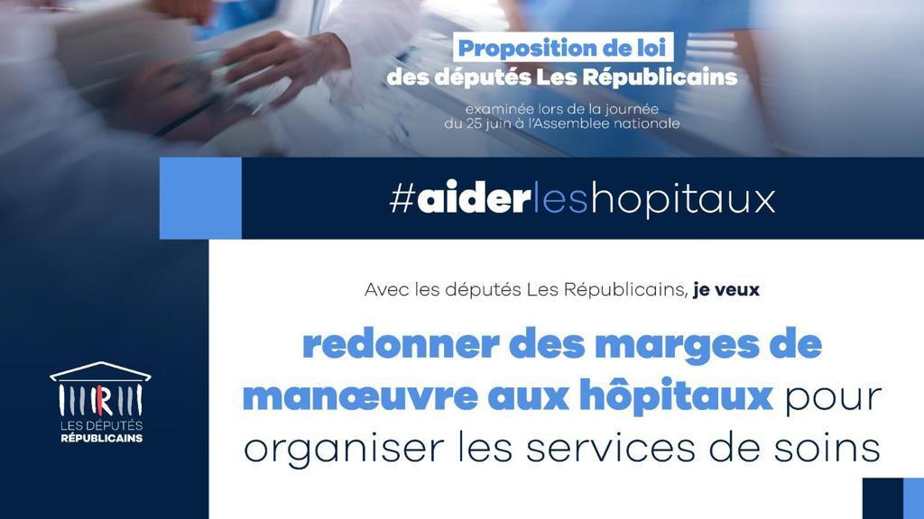 Redonner des marges de manœuvres aux hôpitaux pour organiser les services de soins
