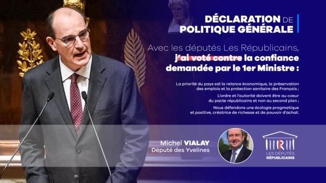 Discours de Politique Générale du Premier Ministre
