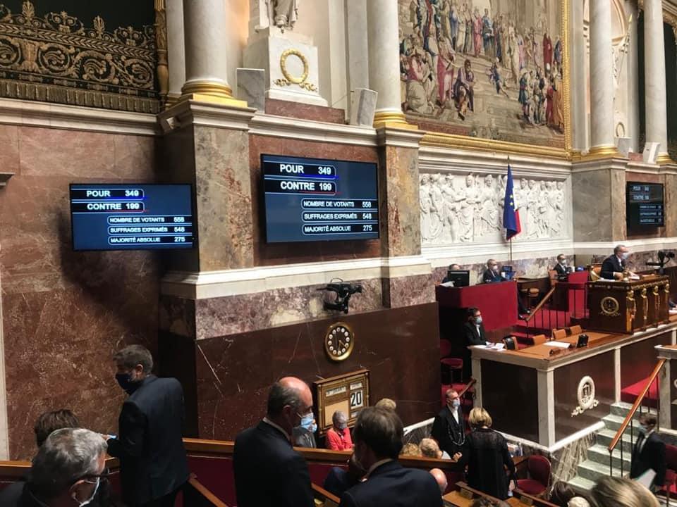 Vote du projet de loi de finances pour 2021