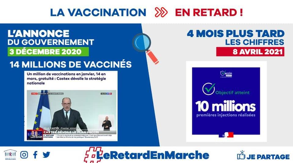 Vaccination : des retards, encore des retards, toujours des retards !