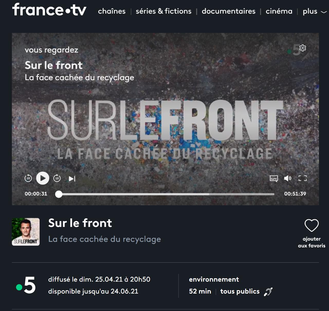 France5 a enquêté: le plastique, c'est dramatique!