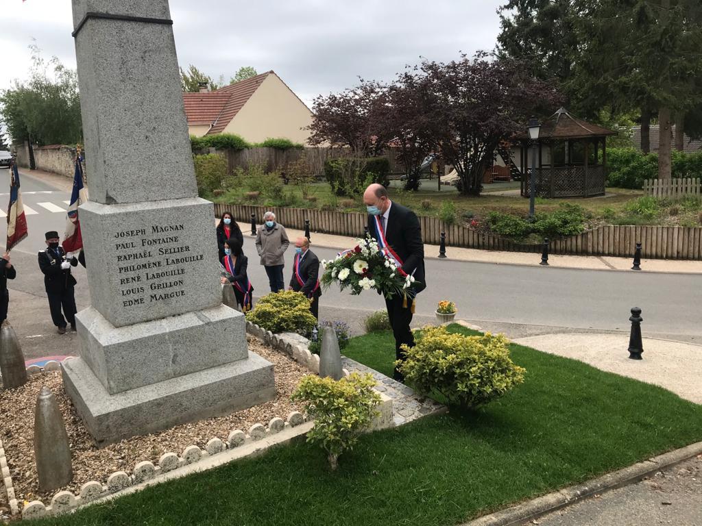 76ème anniversaire de l'Armistice du 08 mai 1945