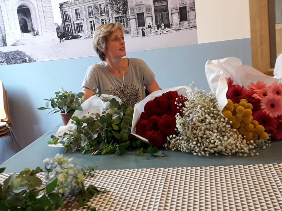 Atelier floral au Musée de l'Hôtel Dieu
