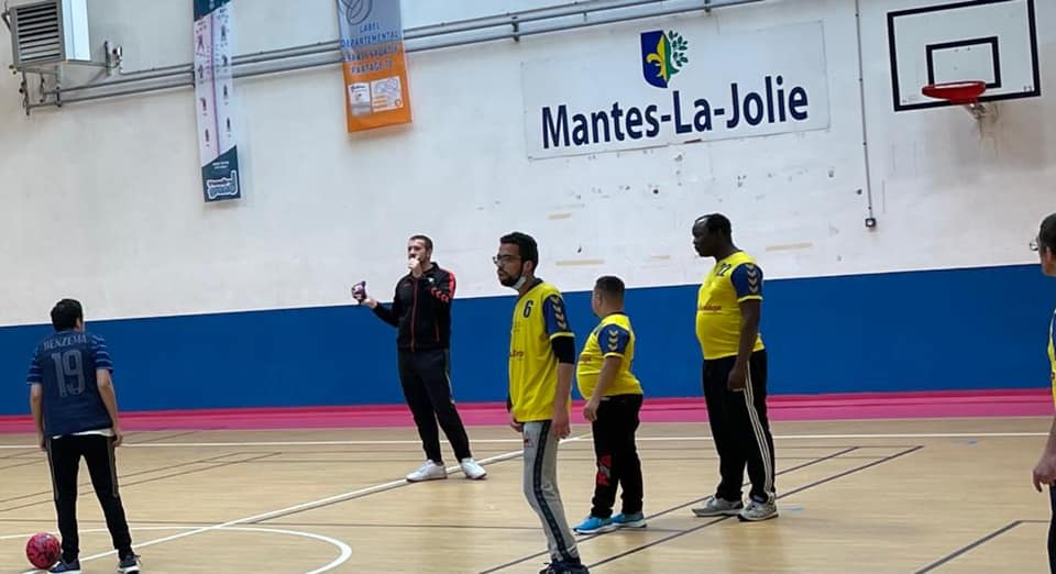 Compétition handisport à Mantes-la-Jolie